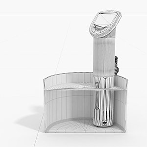 clayrender 3d illustration sousmatic