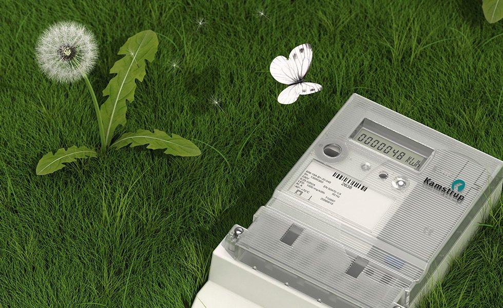 kamstrup 3d illustration visualisering